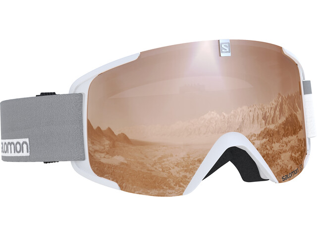 Salomon XView Access Goggles White